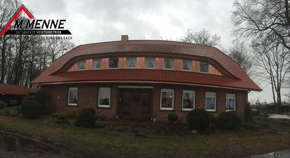 Dachsanierung, Emsland, Werlte, Sögel, Vrees, Löningen, Stehfalz, Klempnerarbeiten