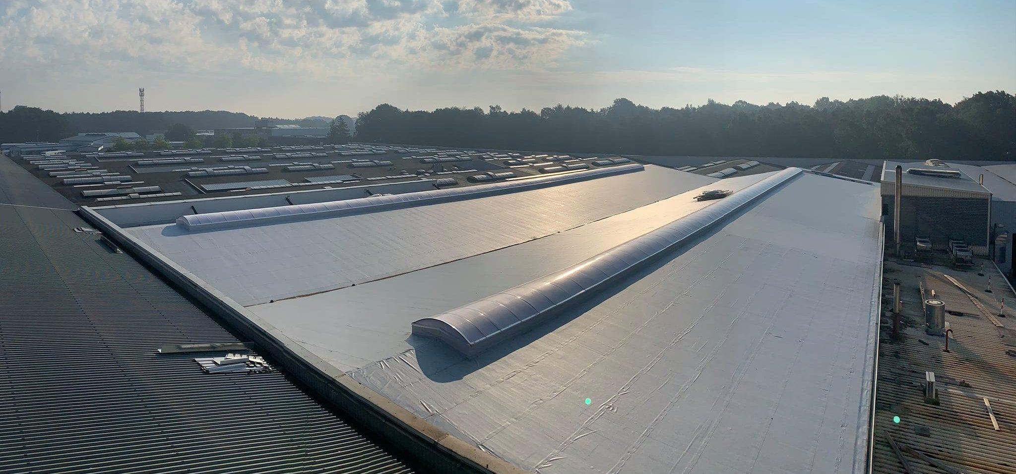 Dachsanierung 4600m²
